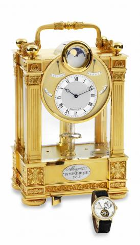 Breguet Sympathique Tourbillon Watch & Clock