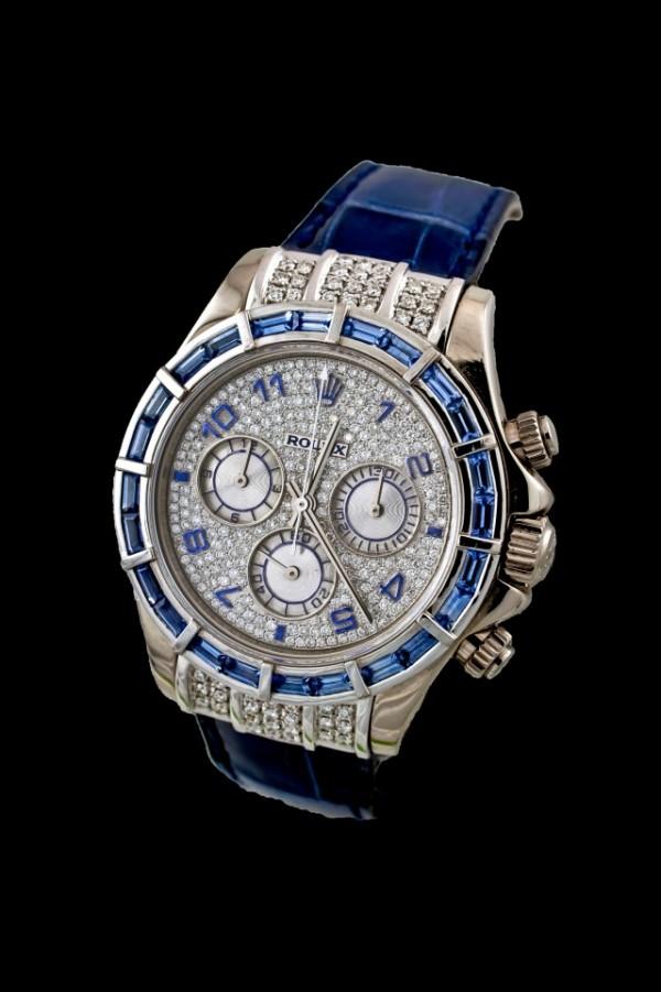 Rolex Blue Sapphire