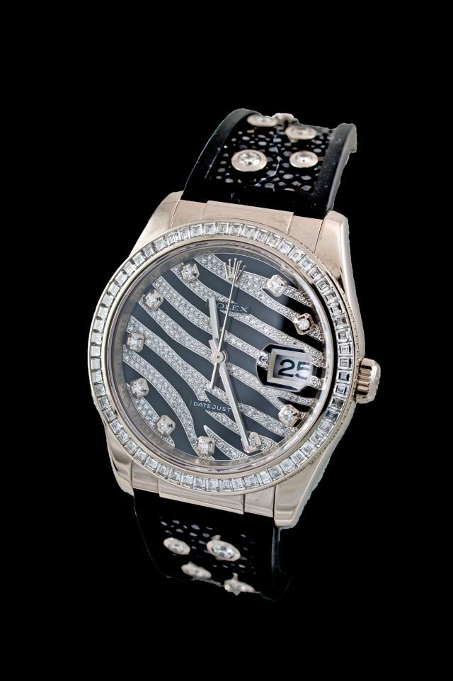 Rolex Zebra