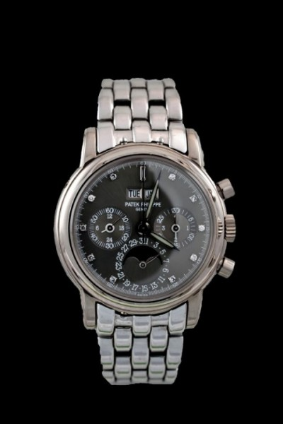 Patek 3970 G- Gray Diamond Dial