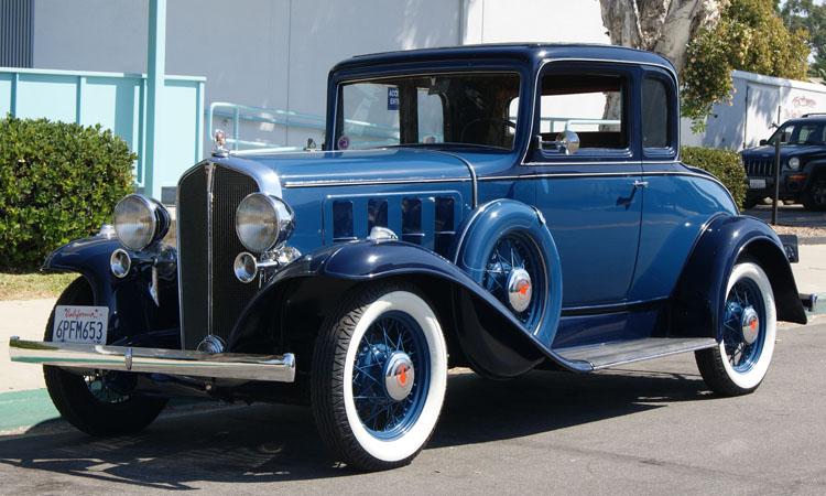 1932 pontiac coupe