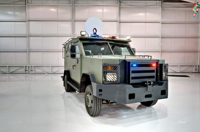2009 Ford F550 Armored BATT-S AP