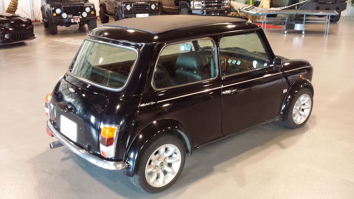 1977 Black Leyland Mini