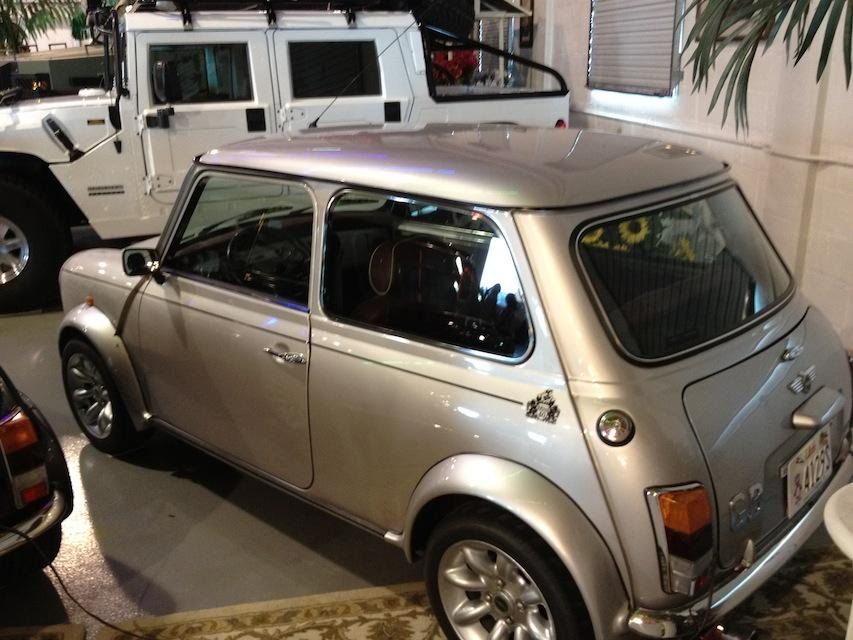1977 silver leyland Mini